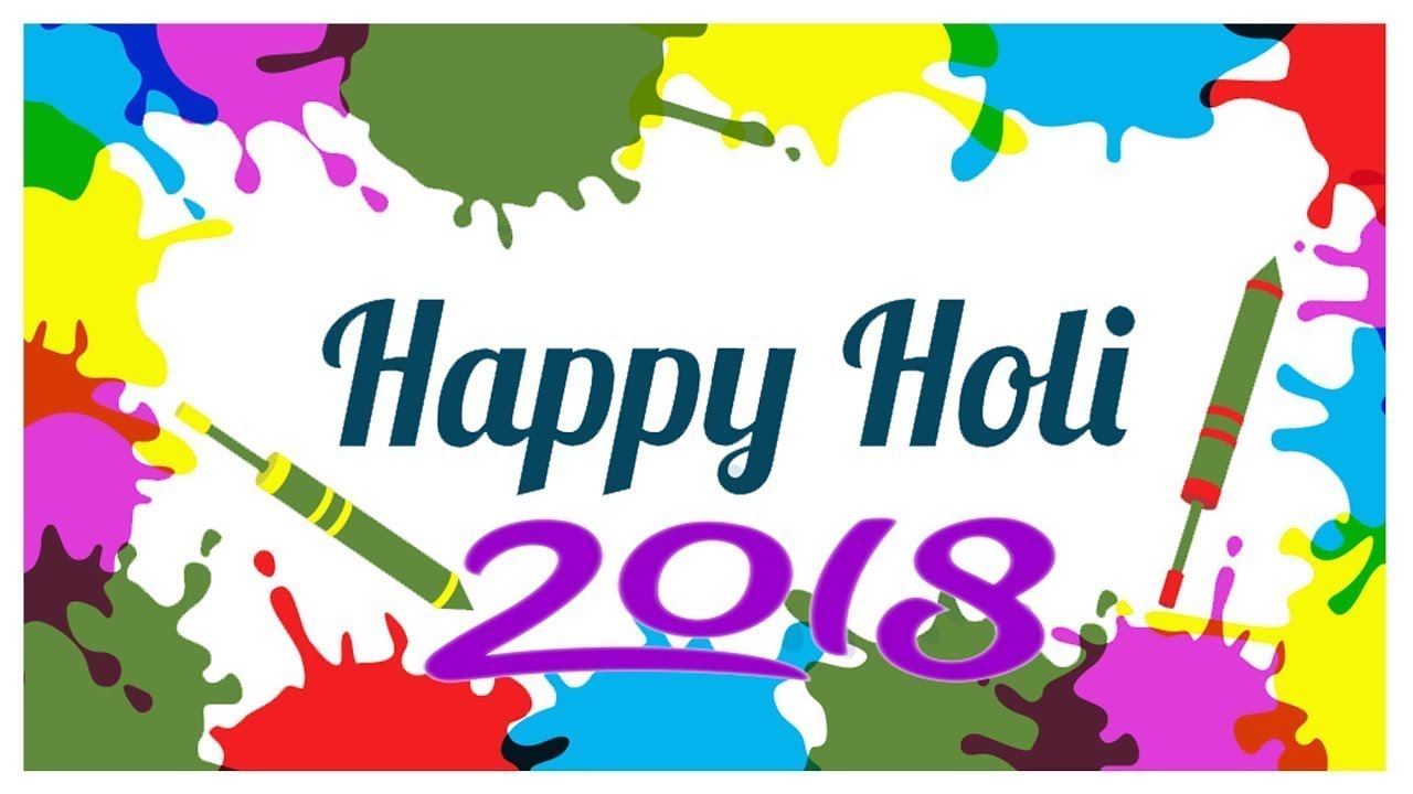 2018 clipart holi. Happy wishes greetings images