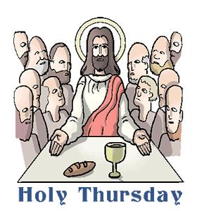 adorabl thursday wish. 2018 clipart holy week