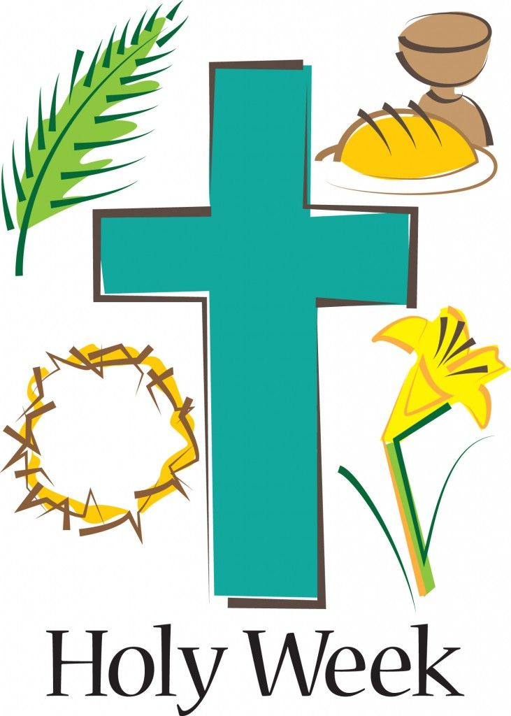 Easter clipart holy week. Happy day pinterest