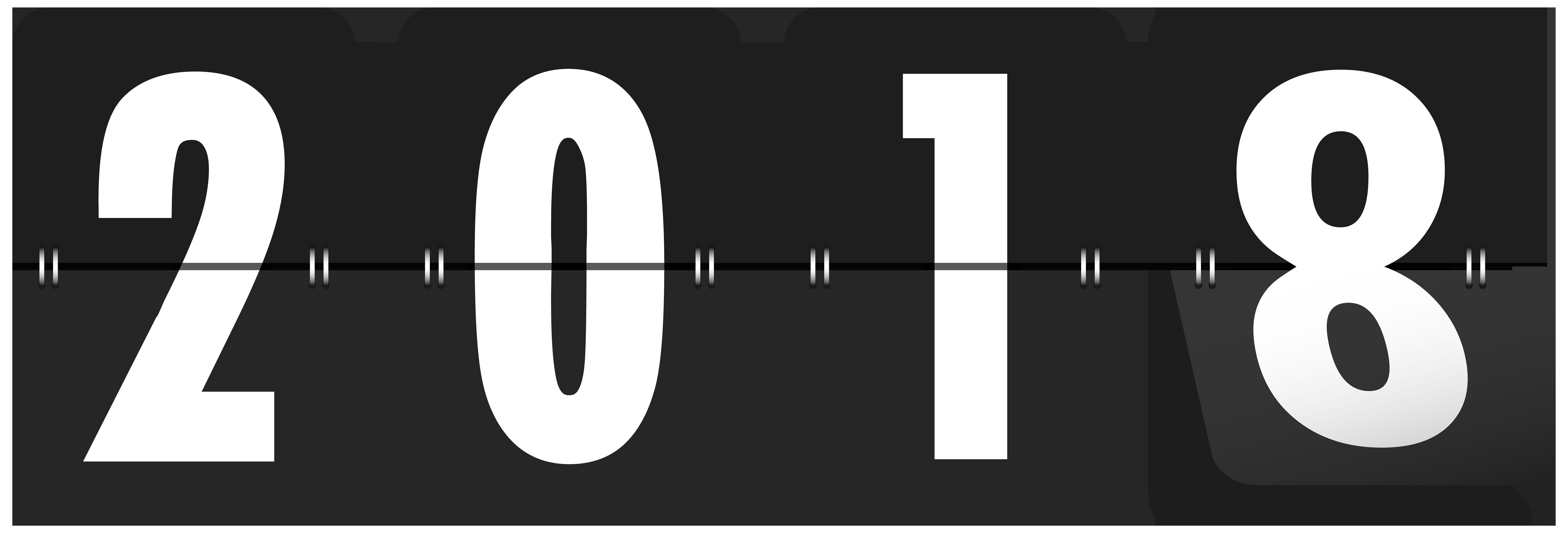 2018 clipart logo.  black transparent clip