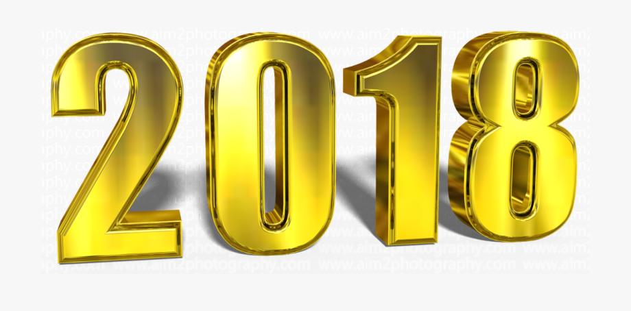 2018 clipart logo. Free happy new year
