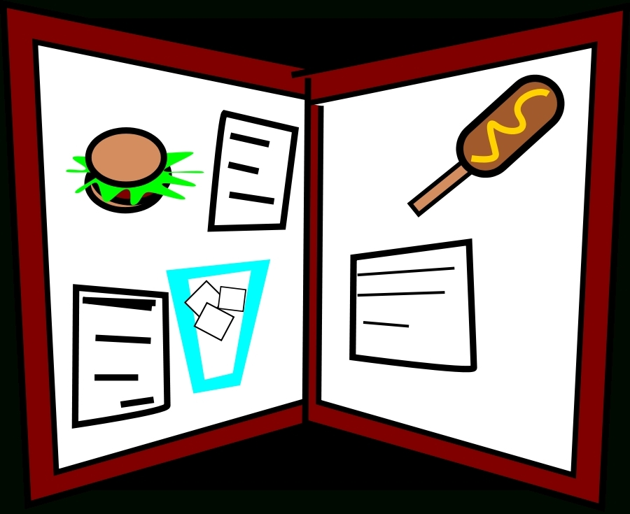 2018 clipart menu. Restaurant clip art printable