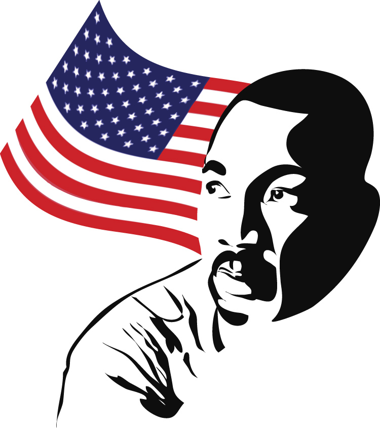 When is martin luther. 2018 clipart mlk day