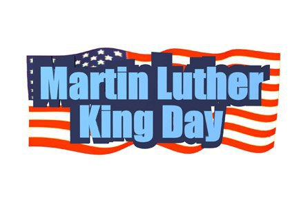 Martin luther king jr. 2018 clipart mlk day