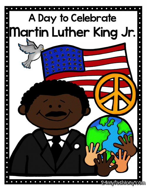 Free martin luther king. 2018 clipart mlk day