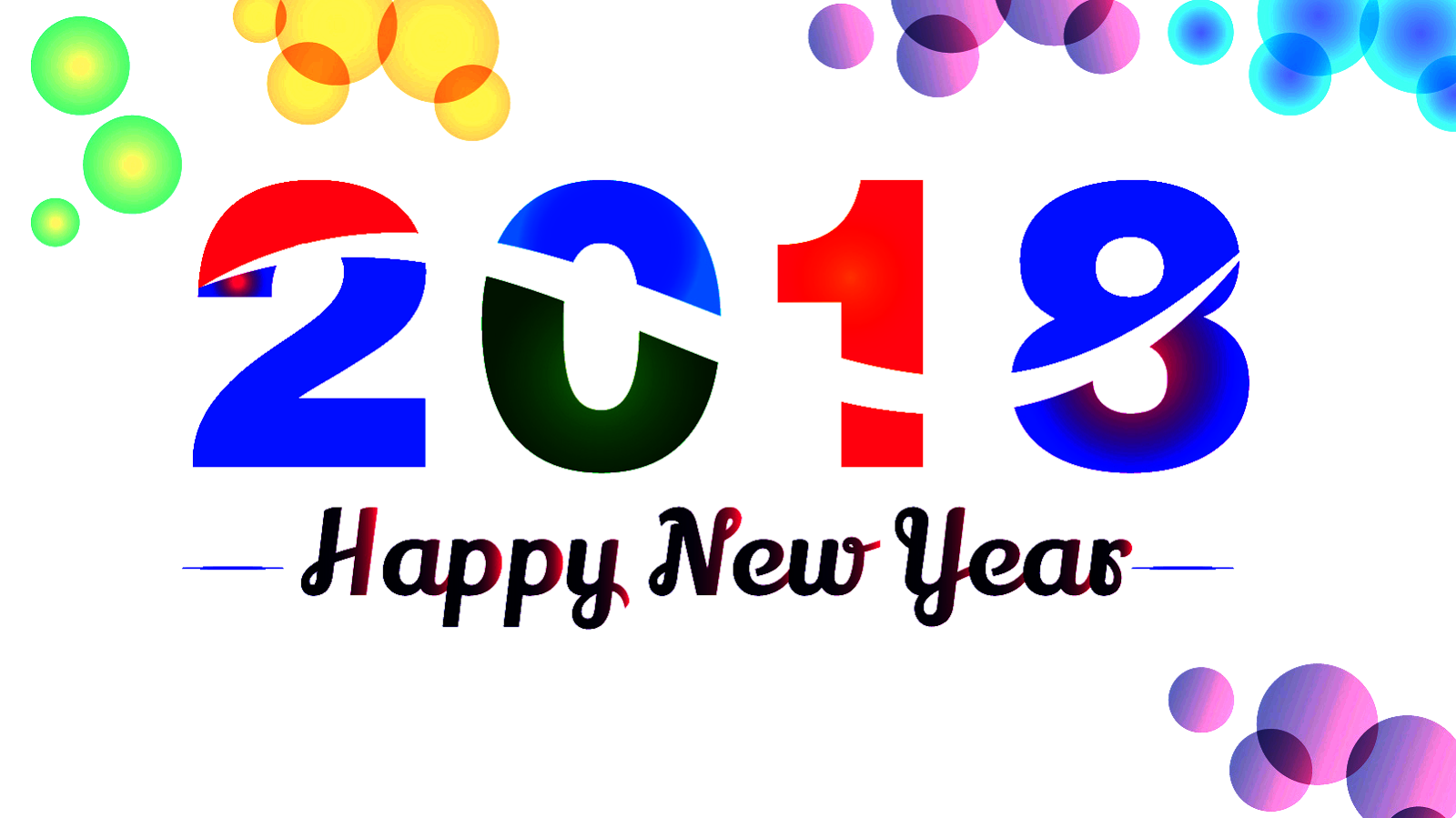 2018 clipart new year. Free happy wish you
