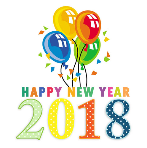 2018 clipart new year. Happy images free clip