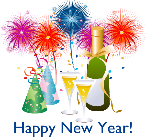 Download happy year png. 2018 clipart new year's eve