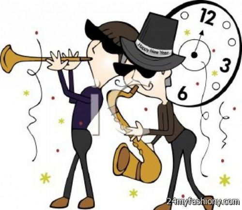 2018 clipart new year's eve. Years clip art images