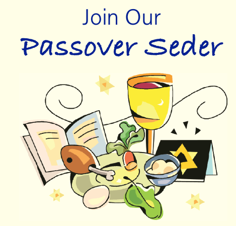2018 clipart passover. Seder event temple beth