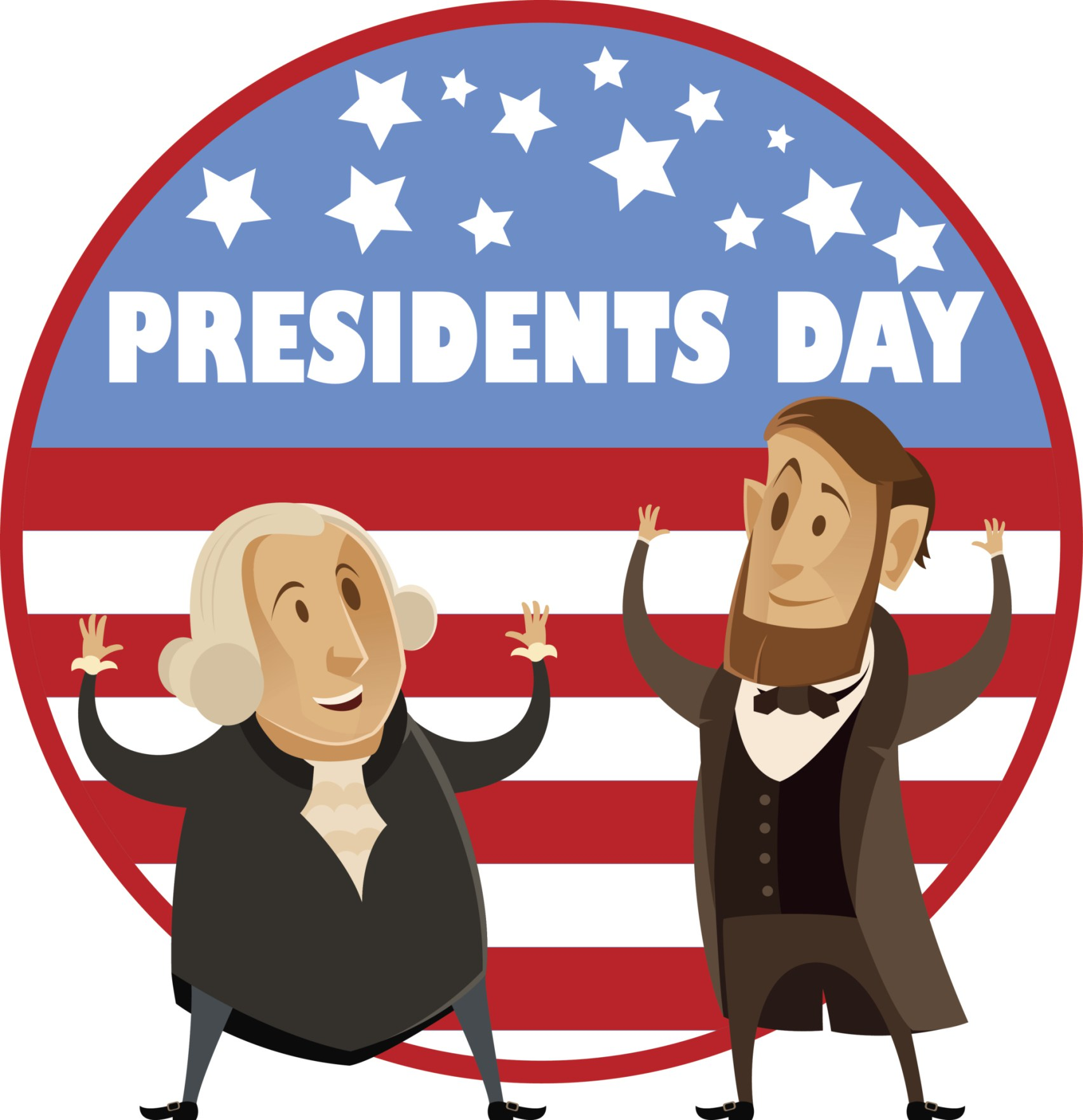 Kirkwood public library with. 2018 clipart presidents day