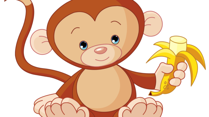 Ape clipart transparent background.  free monkey black