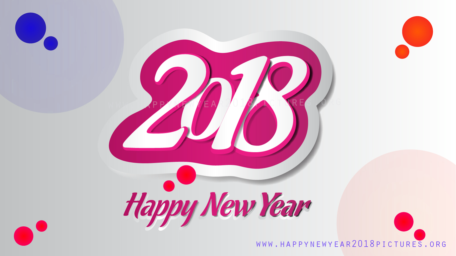 2018 clipart simple. Happy new year images