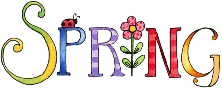 April clipart spring. Free enjoyable design ideas