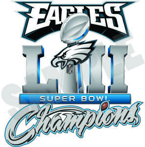 2018 clipart super bowl. Philadelphia eagles champions decal