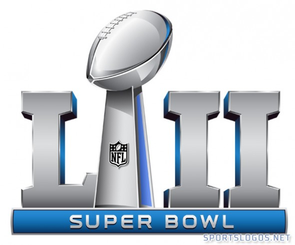 Early look at lii. 2018 clipart super bowl