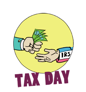 Taxes due calendar history. 2018 clipart tax day