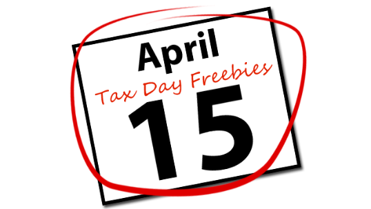 April freebies . 2018 clipart tax day