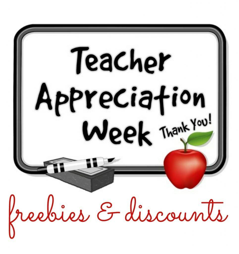2018 clipart teacher appreciation week. Freebies r coupon pantip