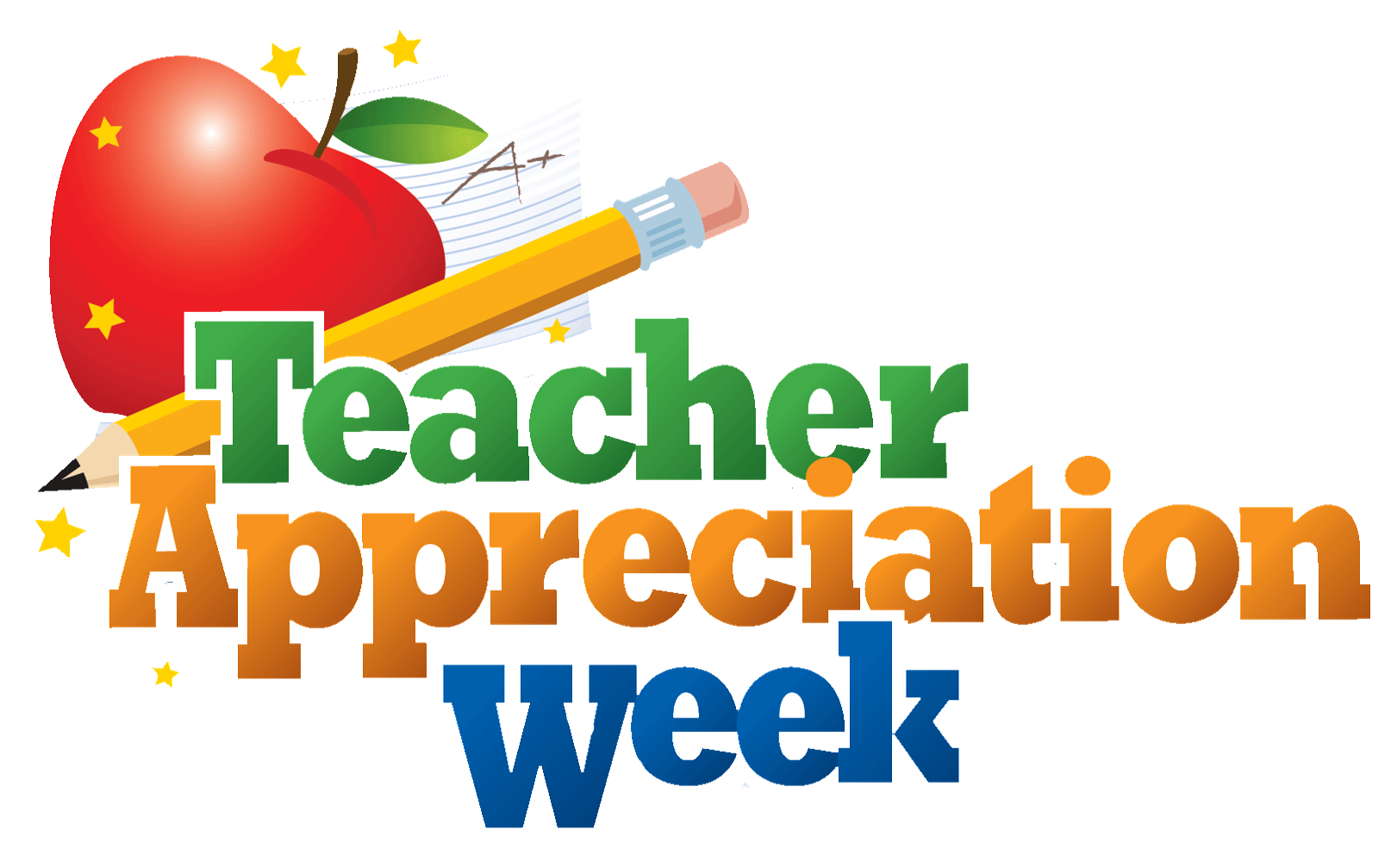 Employee clipart school employee. Teacher appreciation week emerald
