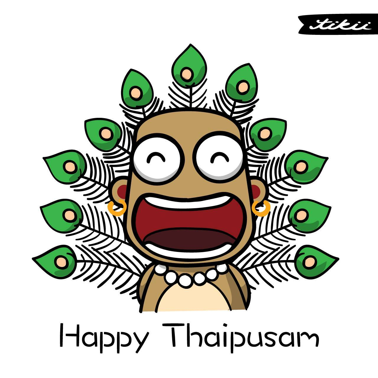 Amazing artworks of february. 2018 clipart thaipusam