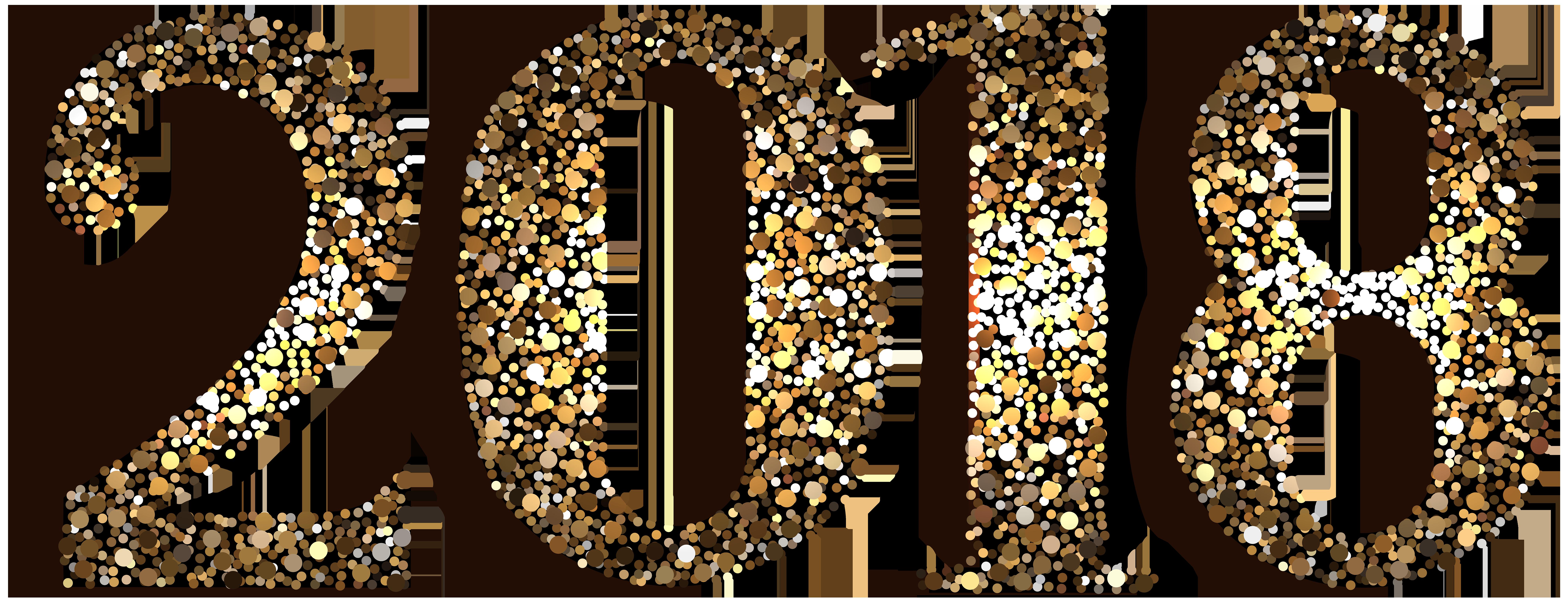 2018 clipart transparent background.  decorative clip art
