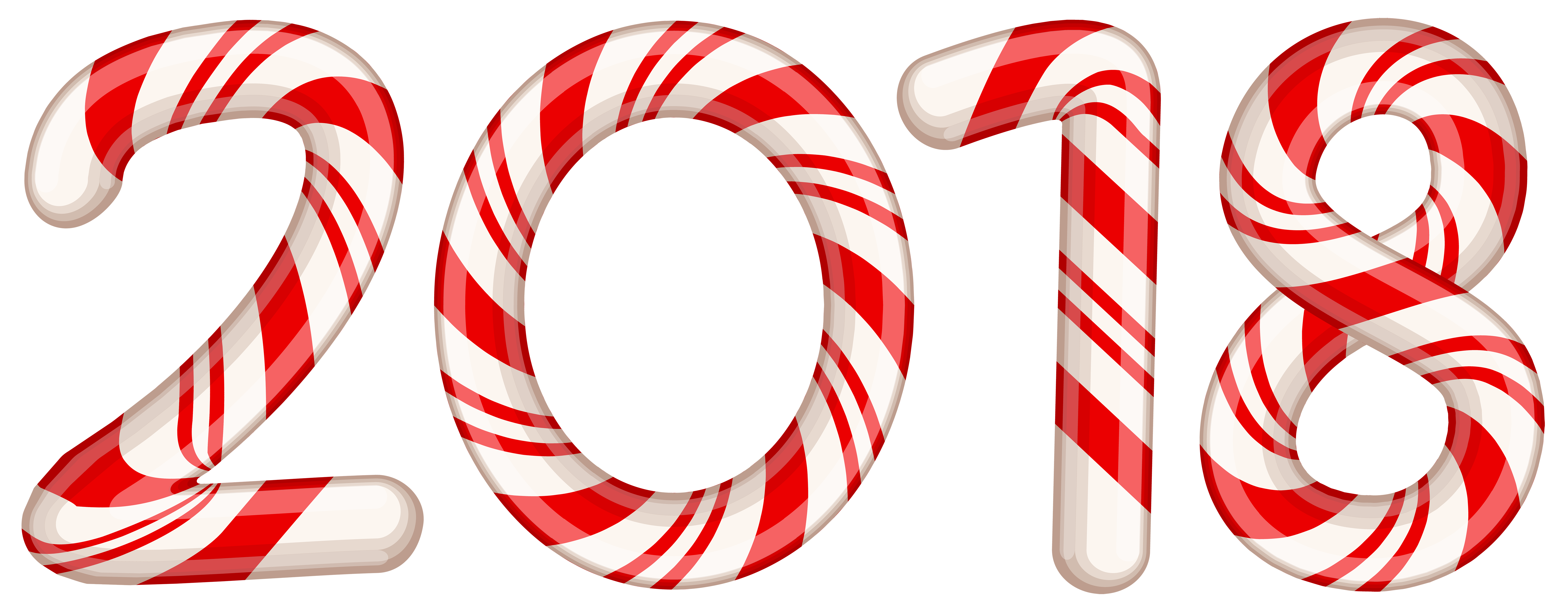 candy cane red. 2018 clipart transparent background