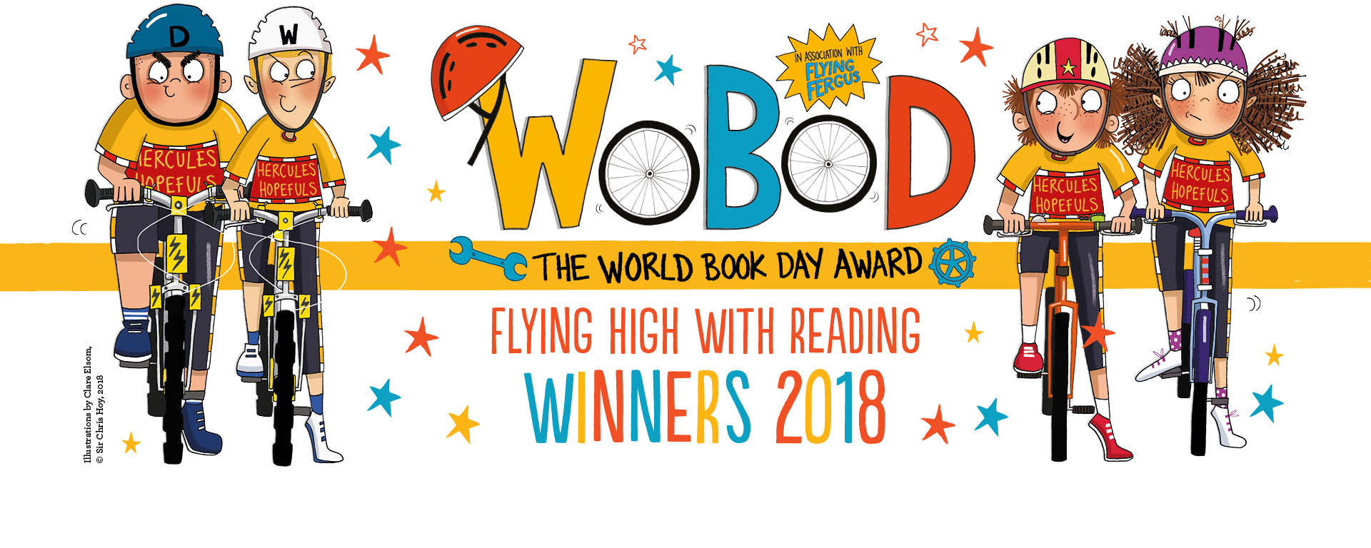 Visit to wobod winning. 2018 clipart world book day
