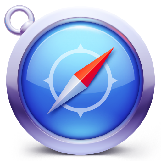 Safari d icon ico. 256x256 png images