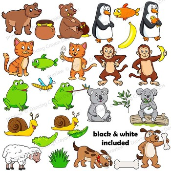 3 clipart animal. Clip art animals and