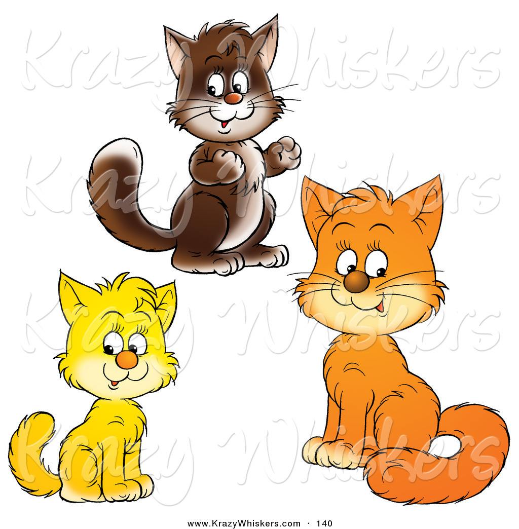 3 clipart animal. Royalty free stock designs
