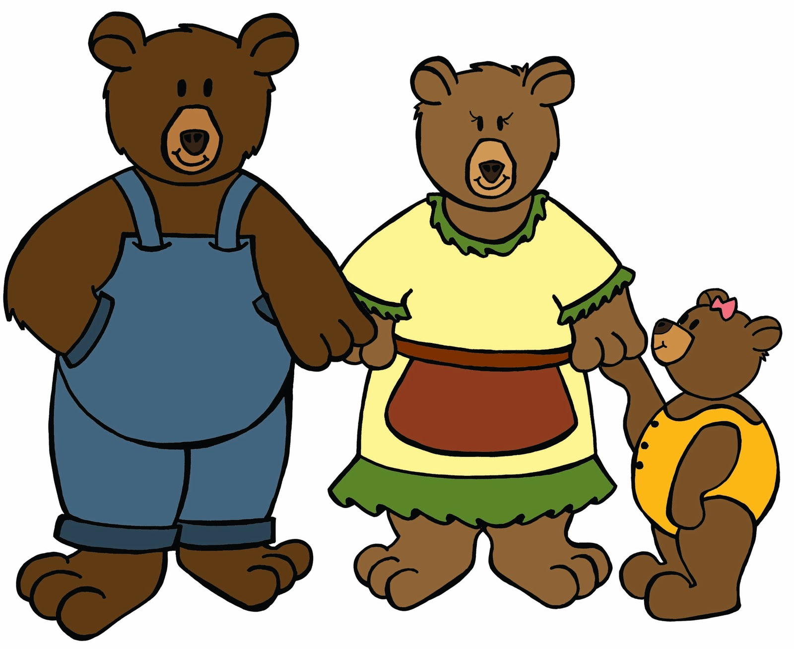 Free three download clip. 3 clipart bears