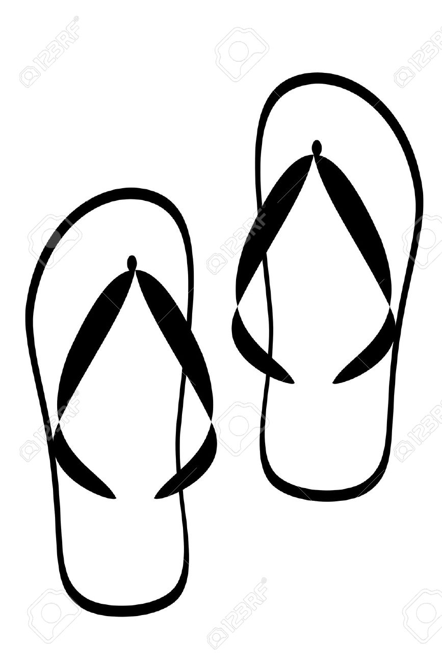 3 clipart black and white. Slipper station