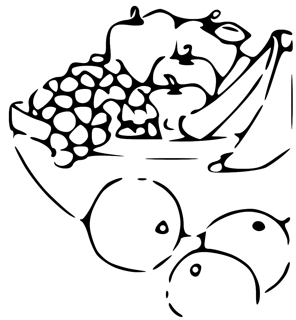 Png vegetables fruits transparent. 3 clipart black and white