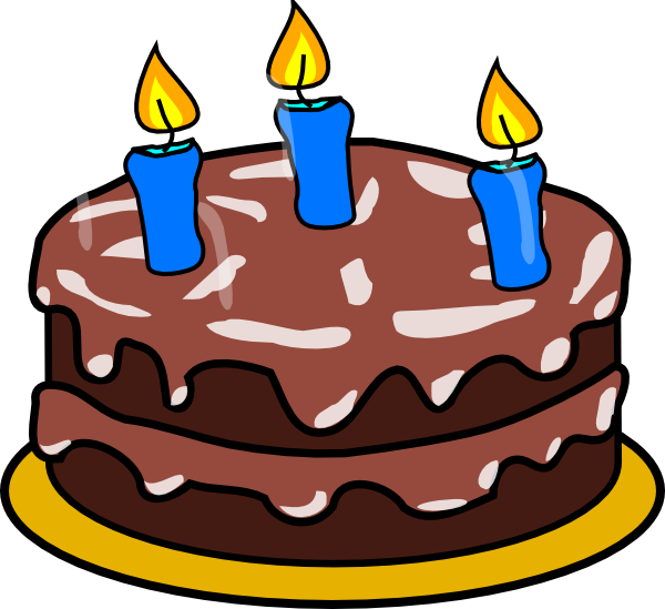 Fraction clipart cake. Birthday age clip art