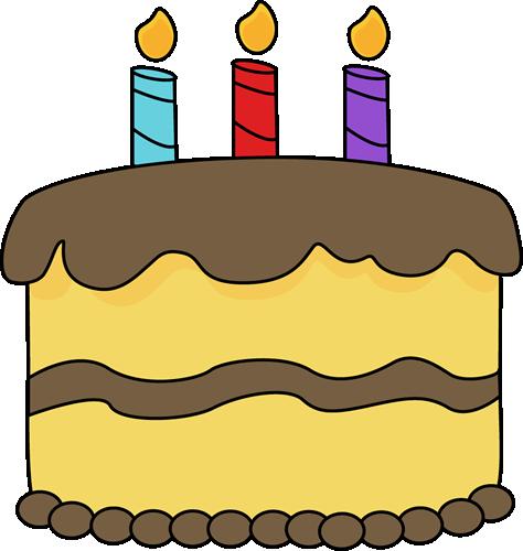 3 clipart cake. Birthday clipartix