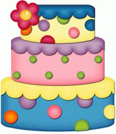 Baked goods clipart spring. Birthday cake drawing big