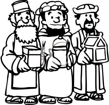 wise men free. 3 clipart cartoon