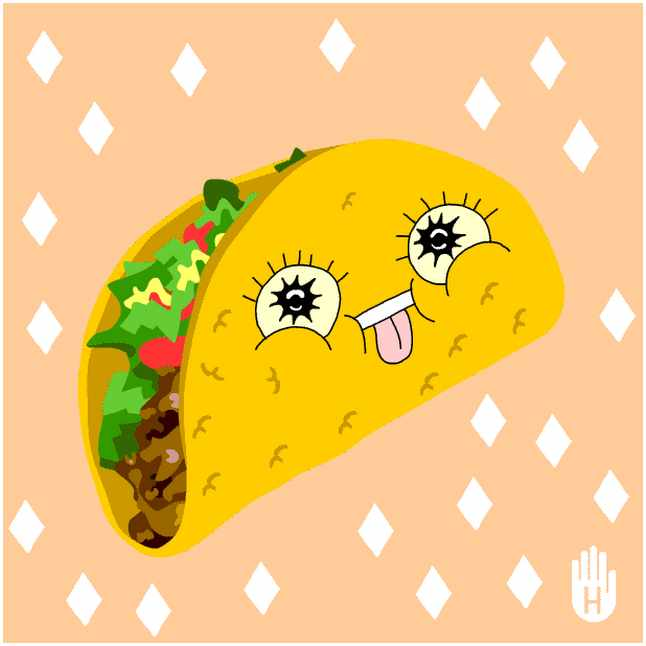 Burrito clipart cartoon. Taco clip art clipartpost