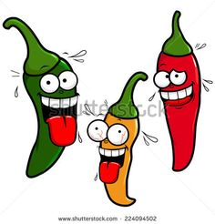 A collection of hot. 3 clipart chilli
