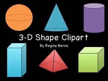3 clipart dimensional.  clipground cone d