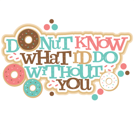 3 clipart donut. Know what i d
