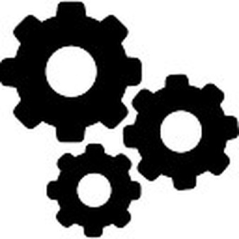 Art icons free files. 3 clipart gear