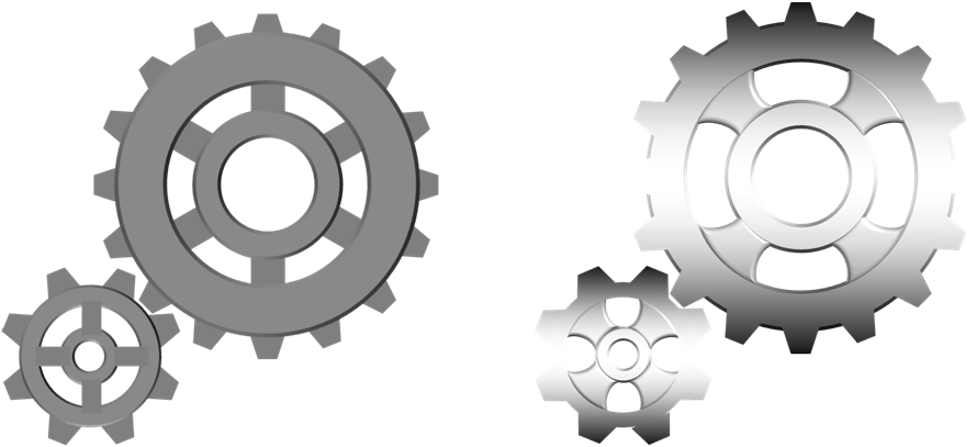3 clipart gear. Drawing and animating gears