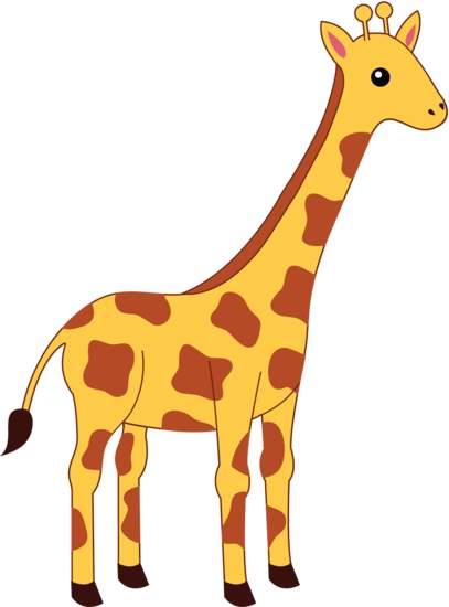 Giraffe clipart girraffe. Clipartpost