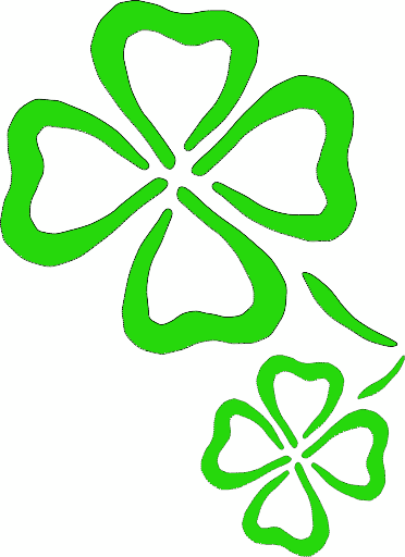 3 clipart holiday.  leaf clover free