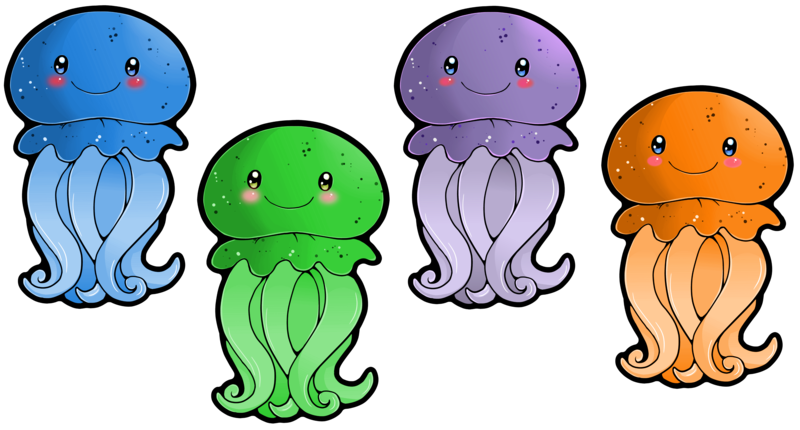 3 clipart jellyfish. Don t forget to