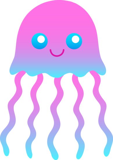 Cute clip art and. 3 clipart jellyfish