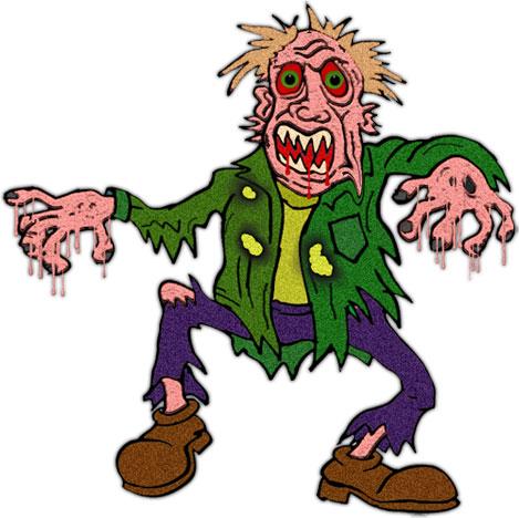 Frankenstein clipart zombie. Halloween kid clipartix