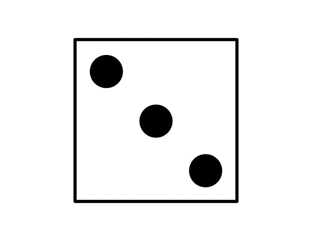 3 clipart kid. Three dice clipartix stunning
